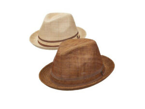 Dorfman-Pacific-034-DPC-034-Men-s-Pacific-Coast-Fall-Straw-Fedora-In-Natural-amp-Brown
