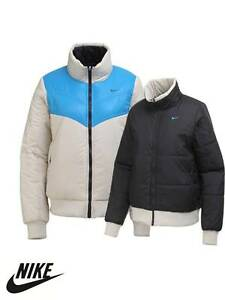 Details about NIKE LADIES WINTER REVERSIBLE JACKET WARM THERMORE COAT GENUINE BNWT