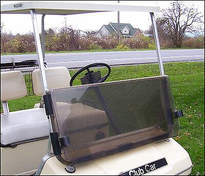 Club Car DS Tinted Windshield '82-'00.5 High Quality Golf Cart Folding Acrylic