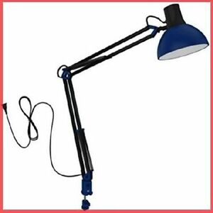 LED Long Swing Arm Desk Lamp W Clamp Metal Architect ...