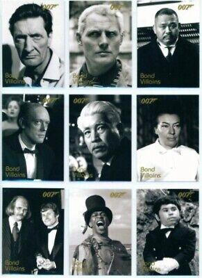 James Bond Dangerous Liaisons Bond Villains Chase Card F29