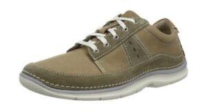 Clarks Ripton Plain Mens Casual Shoes