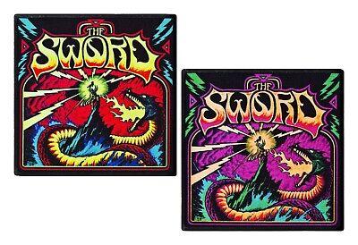 Sleep band patch DIY printed textile band patch rock death stoner doom metal