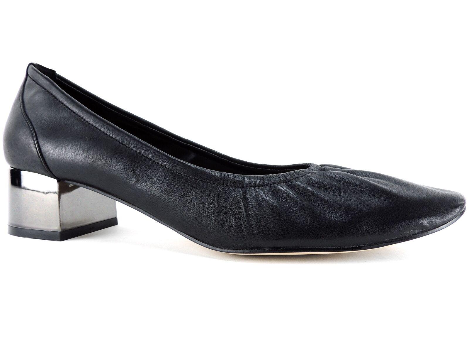 Aldo Mujer Kerari Salón Tacón Tacón Tacón de bloque negro cuero tamaño 8 B  ventas calientes