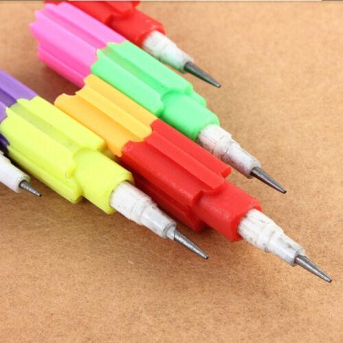Bunte Bleistifte 8 Farben-Stapler-Tauschen-Baustein für Kinder Geschenk ZP