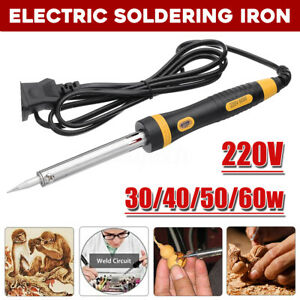 220V-Electric-Soldering-Iron-Welding-Solder-Kit-30W-40W-60W-External-Heated-Tool