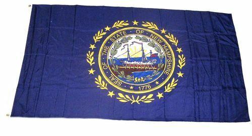 Fahne USA Flagge New Hampshire Hissflagge 90 x 150 cm