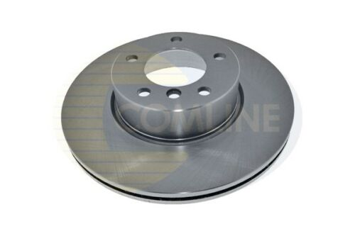 Comline Front Coated Brake Disc Vented Fits BMW XNG847