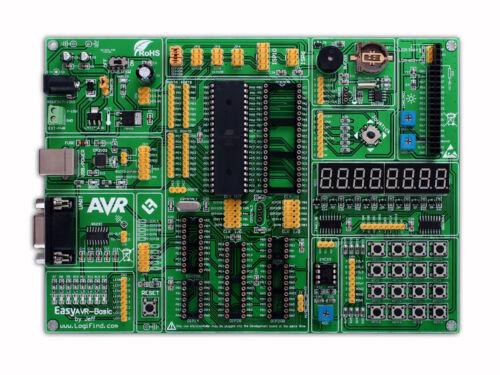 AVR Development Evaluation Board Development System easyAVR-Basic Atmega32A