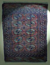 Antik Tekke Buchara Teppich Turkmenistan 108x82cm Turkmen herd rug Tapis Tappeto