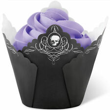 Skull Halloween Pleated Baking Cups 15 ct from Wilton  #0511 - NEW