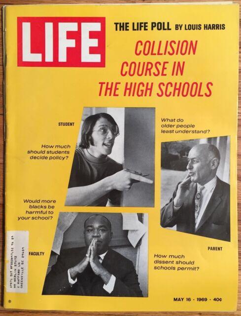LIFE MAGAZINE May 16 1969 * Apollo 10 &11 * Paul Newman * Crisis in High Schools