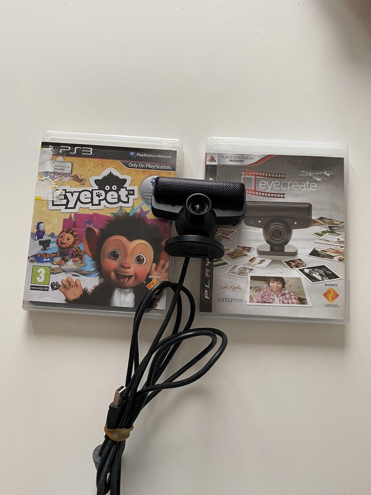 Original Sony Playstation Eye USB Motion Sensor Camera! In Excellent Condition