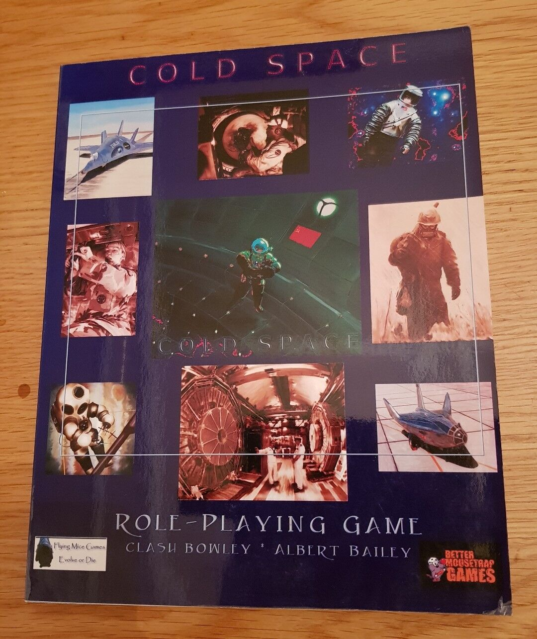 COLD SPACE RPG - VERY RARE COREBOOK FLYING MICE GAMES RPG ROLE-PLAYING SCIFI OOP