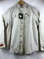 Field /& Stream Original Outfitters Brushed Poplin Long Roll-Up Sleeves Shirt