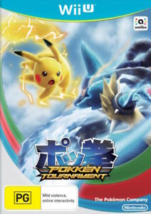 Pokken Tournament Wii U WiiU Game NEW