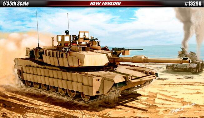 Academy Models 1 35 US Army Tank M1A2 TUSK II