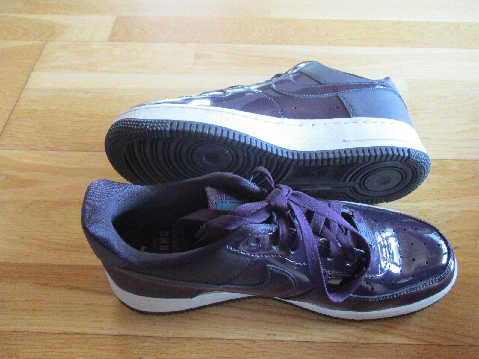 Nike AF1 für Damen EU Größe 40  UK 6 in auberginefarben, nur 1xgetragen