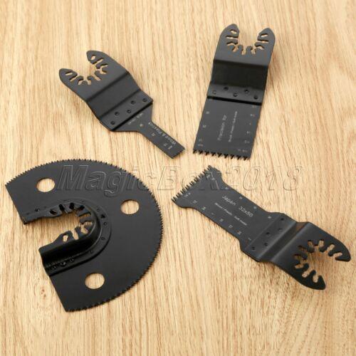 4pcs HCS Precision E-Cut//Flush Segment Saw Blades Cutter Oscillating Multi Tool