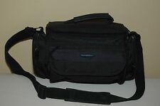 SAMONITE PADDED CAMERA BAG/CASE MODEL #808 - BLACK