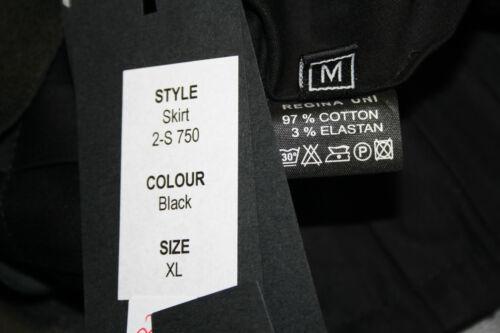 xl-prix recommandé 249,- € Annhagen-top designer rock-asymétrique-skirt-noir