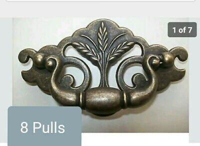 2 lb lot VTG NOS KBC Keeler Brass Plated Tacks Nails Slotted Head Twisted Shank