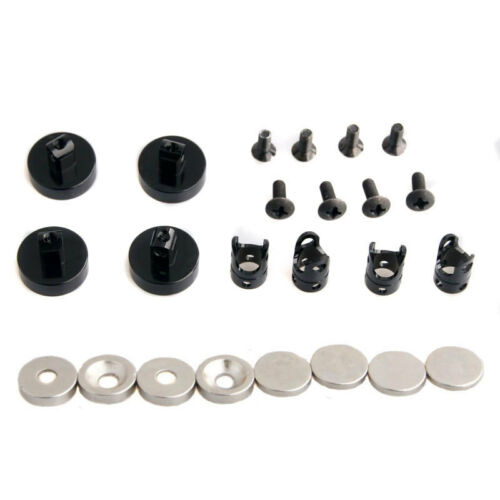 RC N10078 Black Alum Magnetic Stealth Invisible Body Post Mount For 1//10 Buggy