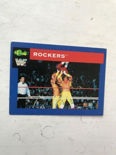1991 WWF Clásico Trading Card Serie-los rockeros #11 Hasbro WWE Wrestling