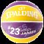 Spalding-NBA-Player-Lebron-James-Basketball-Durable-Rubber-Outdoor-Kids-Ball thumbnail 2