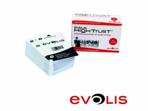 Kurze Reinigungskarten für Kartendrucker Evolis ZeniusVerschiedene Mengen