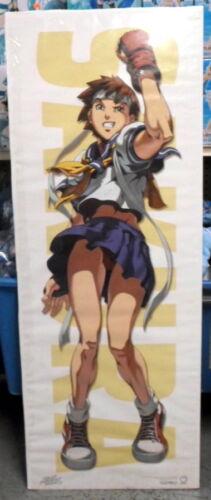 RARE /& OUT OF PRINT!! Street Fighter SAKURA Door Poster Udon