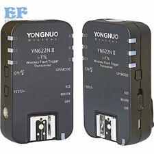 Yongnuo YN-622N II TTL Wireless Flash Trigger Transceiver f Nikon D800 D700 D600