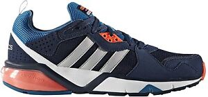 New-Adidas-NEO-Cloudfoam-Frame-Men-s-Trainers-sneakers-sport-shoes-comfort-navy