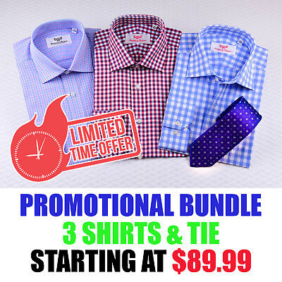 Wholesale Lot for $59.99 1x or 3x Flannel Dress Shirts Bundle White Blue Green