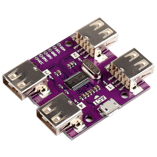 USB 2.0 HUB 4-Port USB High Speed Controller Module For Arduino L2B9 B8M7 O2V5