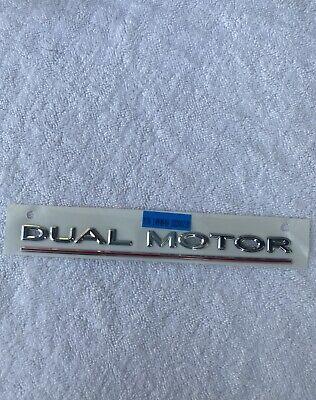 Tesla OEM 1474559 Dual Motor Performance Badge Emblem ...