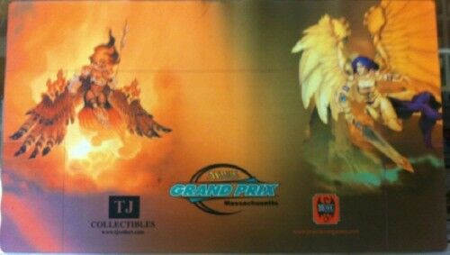 MTG AKROMA ANGEL 2006 GRAND PRIX MASSACHUSETTS PLAY PLAY PLAY MAT NEW 189f89