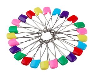 Mezcla-de-color-Bebe-Panal-Panal-viste-Pin-50MM-Imperdibles-Panales-clips-de-artesania