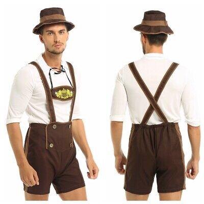 Mens Oktoberfest Guy Bavarian Fancy Dress Costume Men: X-Large