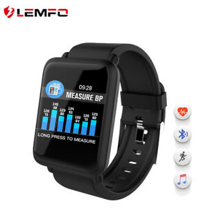 LEMFO-Smart-Bracelet-Watch-Fitness-Tracker-Heart-Rate-Pedometer-For-Android-iOS
