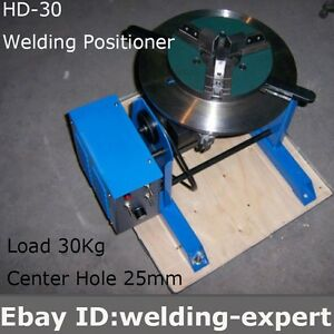 Hd 30 Rotary Welding Positioner Turntable Tube Welder