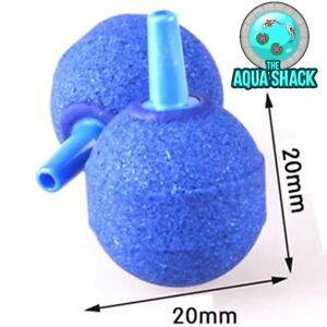 Small-Round-Aquarium-Air-Stones-20mm-Blue-Bubble-Ball-Pond-Pump-Fish-Oxygen
