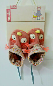 Moulin Roty Chaussons Chouette Mademoiselle Et Ribambelle 657012 Design Professionnel