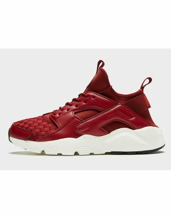 Nike Huarache Run Ultra Scarpe Da Ginnastica Uomo Run ( ( ( EU 42) - Rosso Nuovo di Zecca 83a062