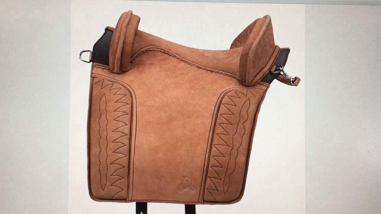 Beautiful Antique Design braun English Style genuine Leather Horse Saddles