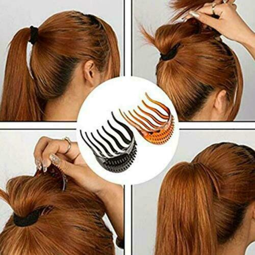 Details about  /Women Girls Ponytail Inserts Hair Clip Hairpin Hair Comb Tools Styling C2I8