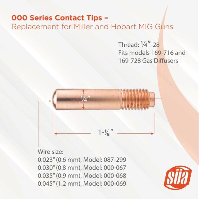 10x MINI MIG 100 GASDÜSE a vite m8 cilindrico Ø = 13mm L = 36 mm #