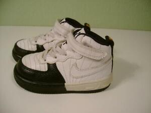 sale retailer c41aa e744f Details about VTG Toddler Boys Air Jordan TWO 3 Basketball High Top Shoes  White,Black Size: 6C