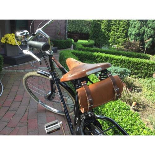 Bag Black Saddle Bag Bike Bag Vintage Bicycle Road Bike Leather Vintage