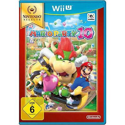 Nintendo Wii U WiiU Spiel ***** Mario Party 10 ***********************NEU*NEW*55